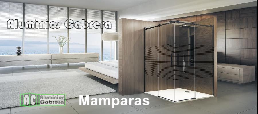 mampara-de-baño-color-nego-aluminios-cabrera