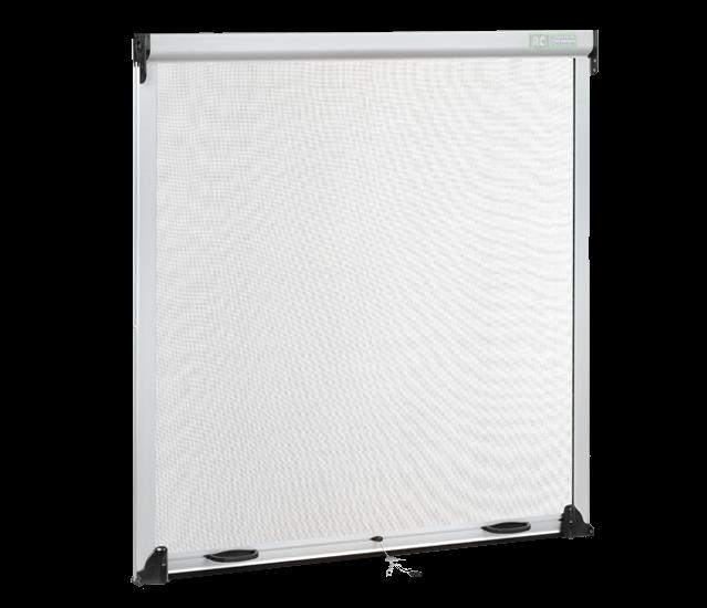 mosquitera enrollable blanca