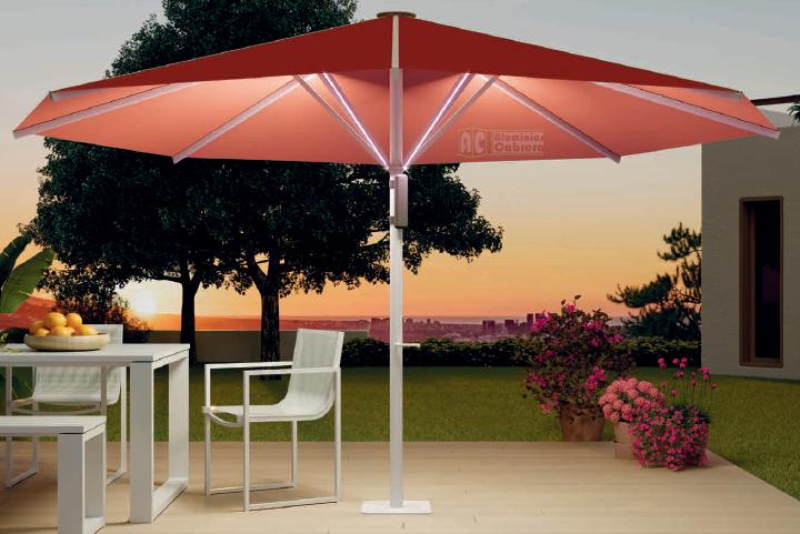 Toldo parasol