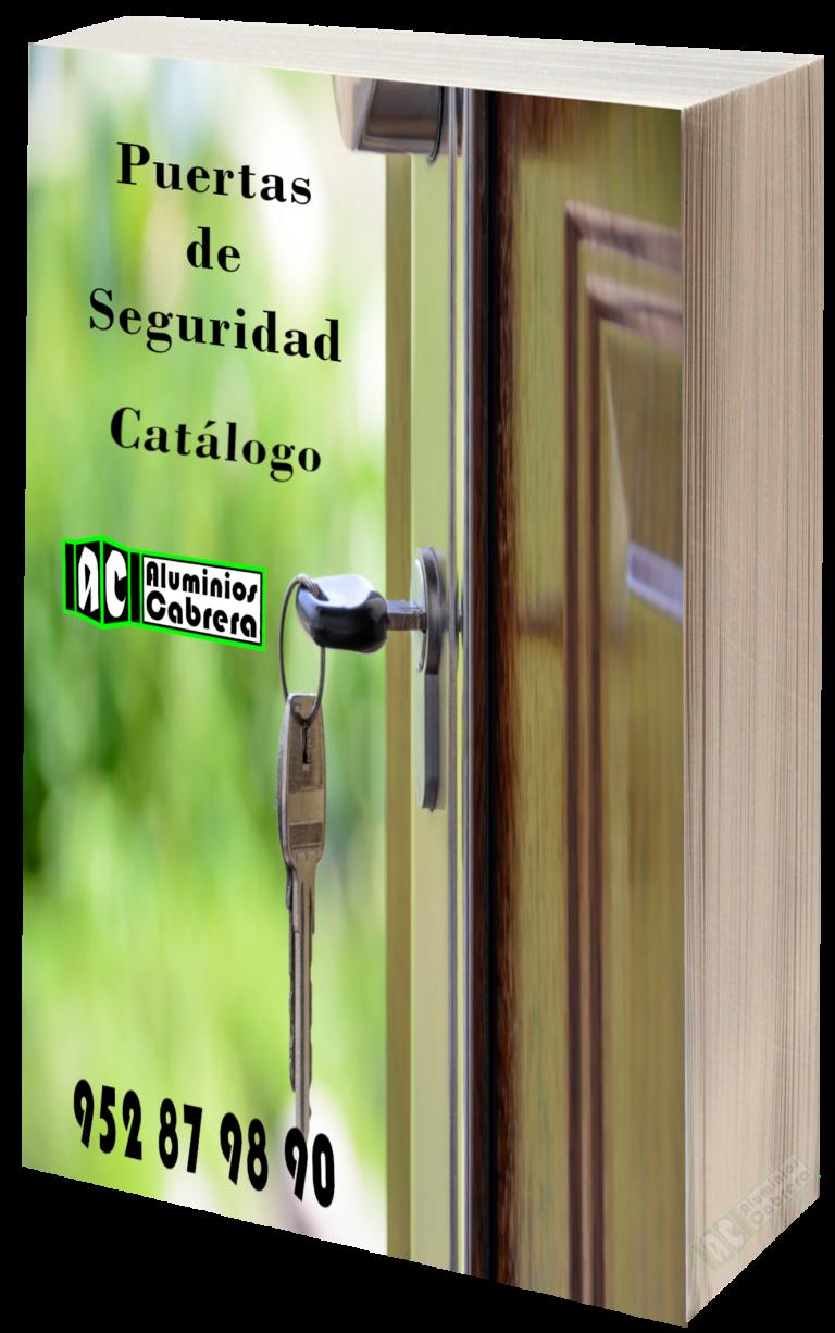 Catálogo Puertas de Seguridad Aluminios Cabrera