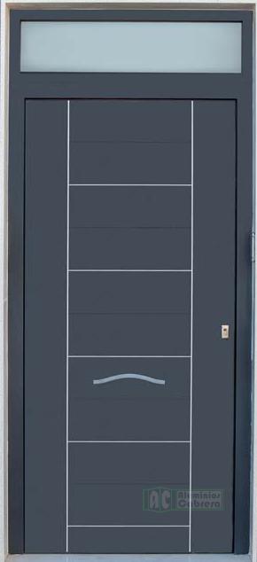 Puerta de Seguridad, Serie Recta, Modelo Onix