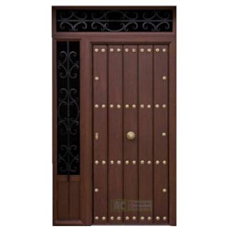 Puerta de Seguridad - Serie Tradicional - Modelo Granada 325x325 fondo blanco