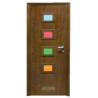 Puerta de Seguridad - Serie Tradicional - Modelo Isla 325x325 fondo blanco
