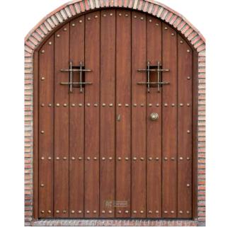 Puerta de Seguridad - Serie Tradicional - Modelo Jerez 325x325 fondo blanco