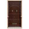 Puerta de Seguridad - Serie Tradicional - Modelo Ronda 325x325 fondo blanco
